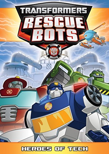 Transformers Rescue Bots Heroes Of Tech DVD