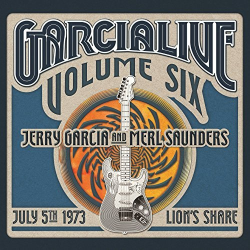 Jerry & Merl Saunders Garcia Garcialive Vol 6 July 5th 1973 Lion's Share 3xcd
