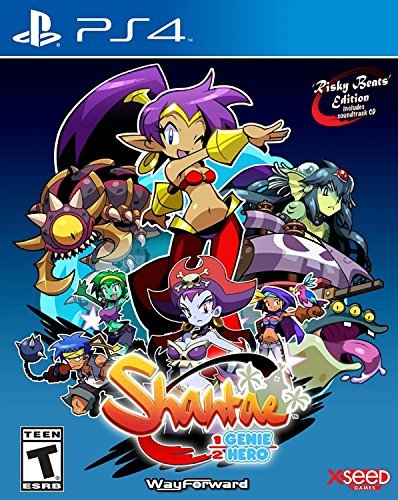 Ps4 Shantae Half Genie Hero Risky Beats Edition