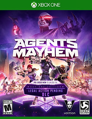 Xbox One Agents Of Mayhem (launch Edition)