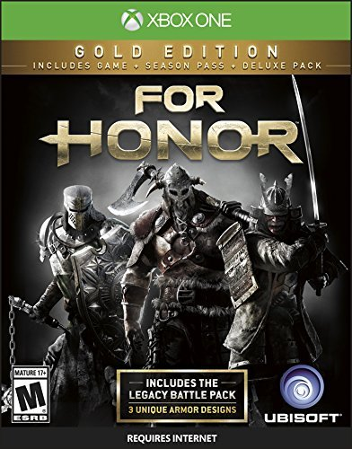 Xbox One For Honor Gold Edition