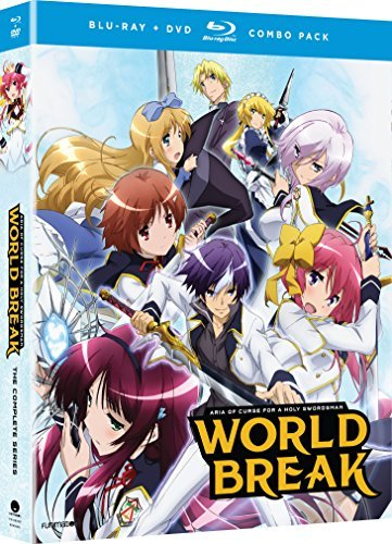 World Break Aria Of Curse A Holy Swordsman Complete Series Blu Ray DVD