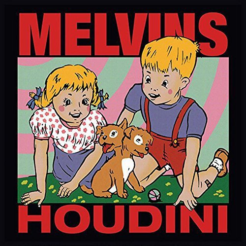 Melvins Houdini 180 Gram Bonus Track Analog Tape Masters 6 Tracks Produced By Kurt Cobain.