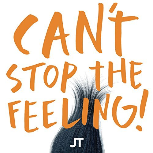 Justin Timberlake Can't Stop The Feeling! 150g Orange Vinyl