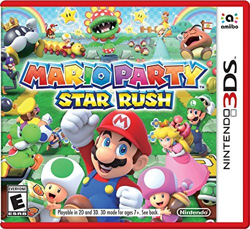 Nintendo 3ds Mario Party Star Rush