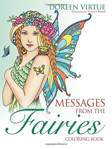 Doreen Virtue Messages From The Fairies Coloring Book