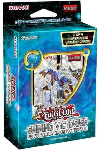 Yu Gi Oh Cards Shining Victories Special Edition