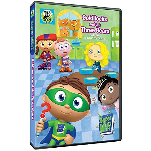 Super Why Goldilocks & The Three Bears Pbs DVD