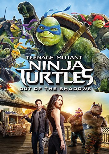 Teenage Mutant Ninja Turtles Out Of The Shadows Fox Arnett Perry DVD Pg13