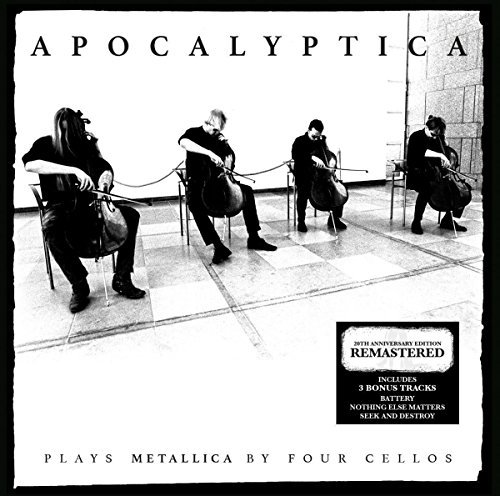 Apocalyptica Plays Metallica By Four Cellos 20th Anniversary Incl. CD Rema