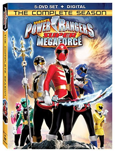 Power Rangers Super Megaforce Complete Season DVD