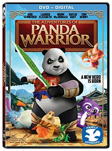 Adventures Of Panda Warrior Adventures Of Panda Warrior DVD Dc Pg