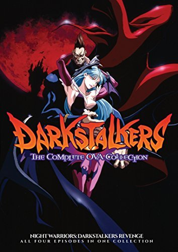 Night Warriors Darkstalker's Revenge Collection DVD
