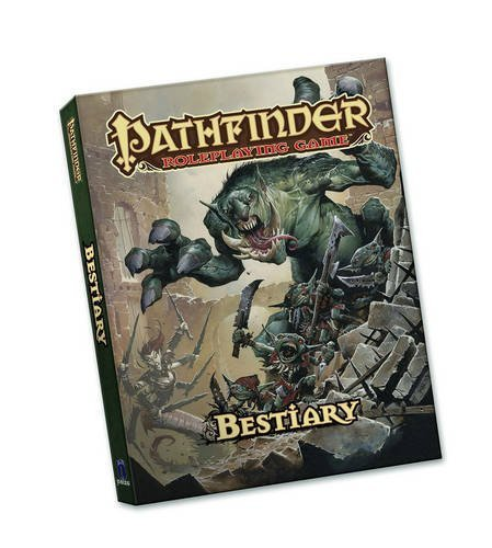 Jason Bulmahn Pathfinder Roleplaying Game Bestiary (pocket Edition)