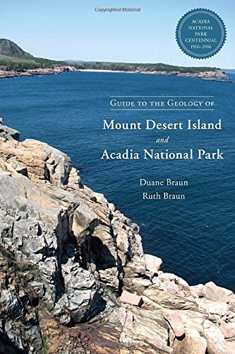 Duane Braun Guide To The Geology Of Mount Desert Island And Ac