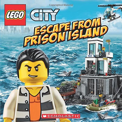 J. E. Bright Lego City Escape From Prison Island