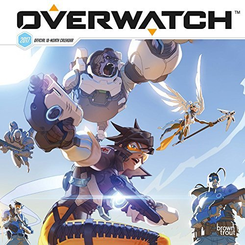 Inc Browntrout Publishers Overwatch 2017 Square