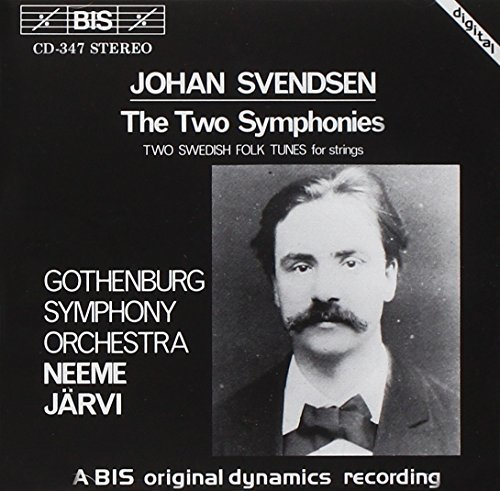 J. Svendsen Sym 1 2 Swedish Folk Tunes Jarvi Gothenburg So
