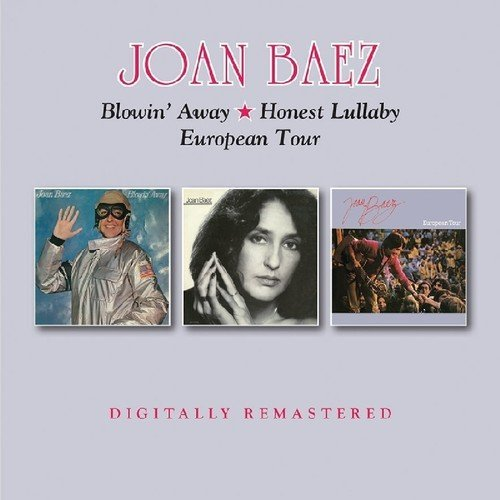 Joan Baez Blowin' Away Honest Lullaby Eu Import Gbr 2cd