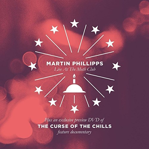 Chills Martin Phillipps Curse Of The Chills Martin Phillipps Live At The DVD CD Hardback Book