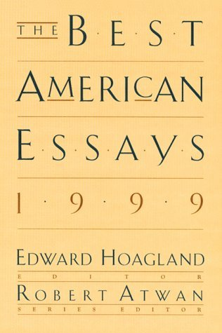 Edward Hoagland The Best American Essays