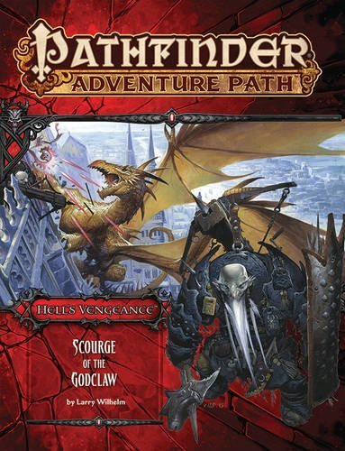 Larry Wilhelm Pathfinder Adventure Path Hell's Vengeance Part 5 Scourge Of The Godclaw