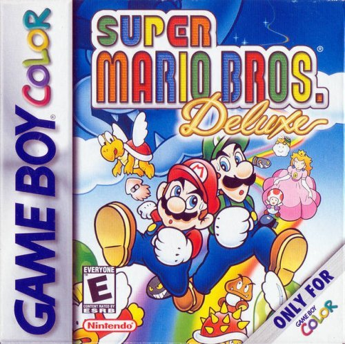 Game Boy Color Super Mario Bros. Deluxe