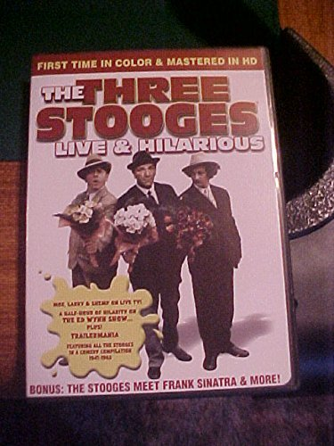 The Three Stooges The Three Stooges Live & Hilarious ~ First Time In