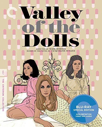 Valley Of The Dolls Parkins Duke Tate Blu Ray Pg13 Criterion