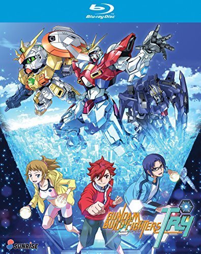 Gundam Build Fighters Try Complete Collection Blu Ray Nr