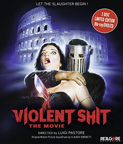 Violent Shit The Movie Violent Shit The Movie Blu Ray DVD CD Nr