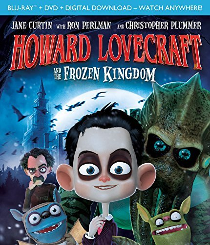 Howard Lovecraft & The Frozen Kingdom Howard Lovecraft & The Frozen Kingdom Blu Ray DVD Dc Pg