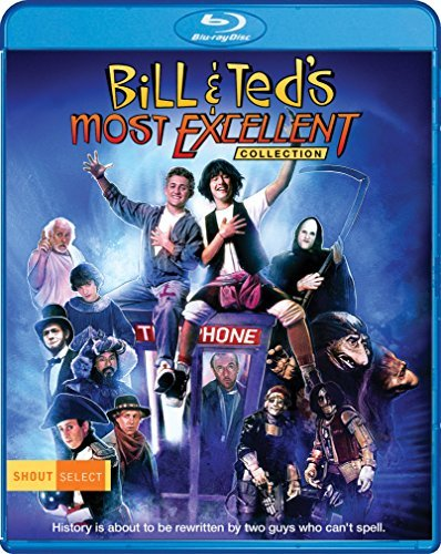 Bill & Ted's Most Excellent Collection Reeves Winter Carlin Blu Ray Pg