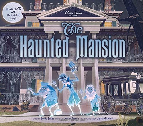 Disney Book Group Disney Parks Presents The Haunted Mansion [with Audio Cd]