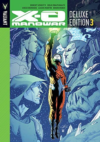 Robert Venditti X O Manowar Deluxe Edition Book 3