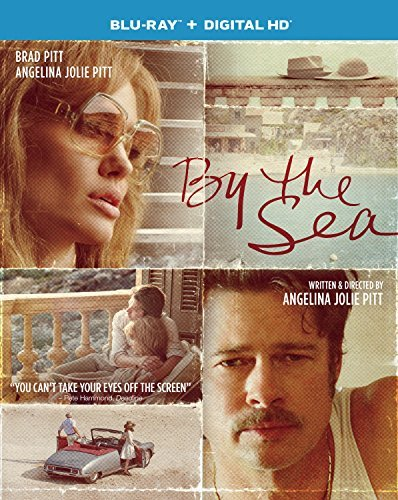 By The Sea Pitt Jolie Blu Ray DVD Dc R