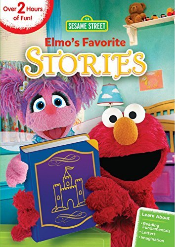 Sesame Street Elmo's Favorite Stories DVD