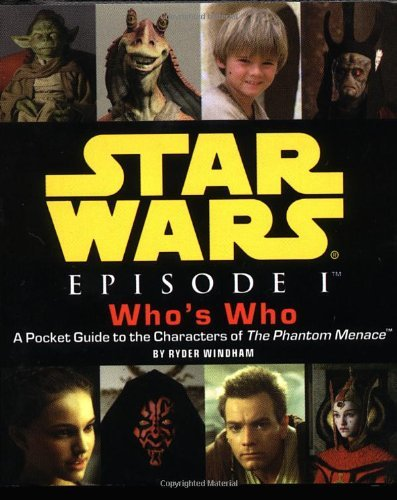 Ryder Windham Star Wars Episode I Who's Who