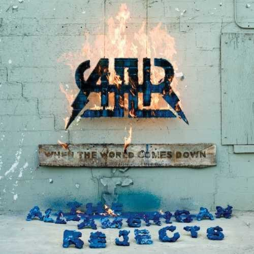 All American Rejects When The World Comes Down (clear Vinyl W White & Blue Starburst) Clear Lp