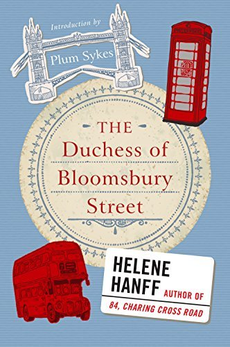 Helene Hanff The Duchess Of Bloomsbury Street