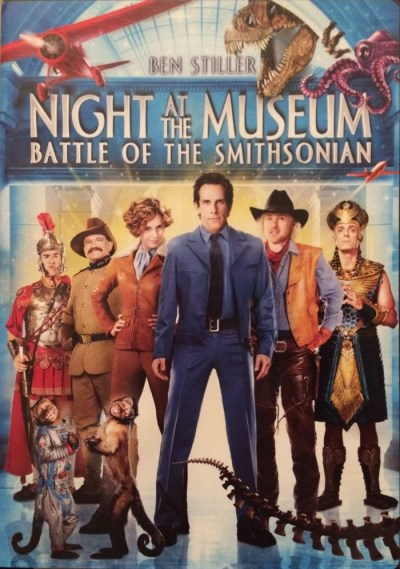 Night At The Museum Battle Of The Smithsonian Stiller Adams Wilson Williams