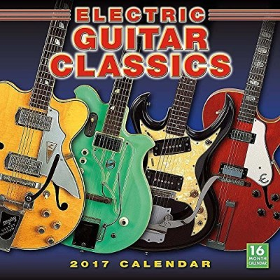 Jawbone Press Cal 2017 Electric Guitar Classics