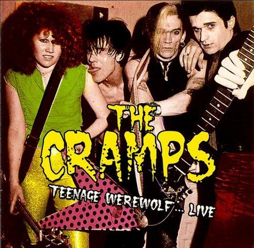 The Cramps Teenage Werewolf... Live Lp