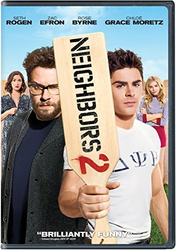 Neighbors 2 Sorority Rising Rogen Efron Byrne Moretz DVD R