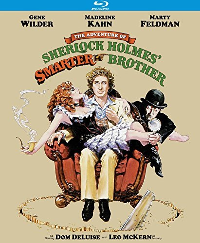 Adventure Of Sherlock Holmes' Smarter Brother Wilder Kahn Feldman Blu Ray Pg