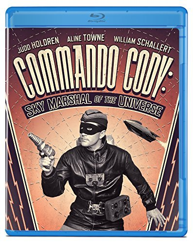 Commando Cody Sky Marshal Of The Universe Holdren Towne Blu Ray