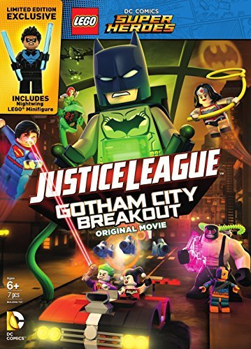 Lego Dc Super Heroes Justice League Gotham City Breakout DVD Minifigure Nr