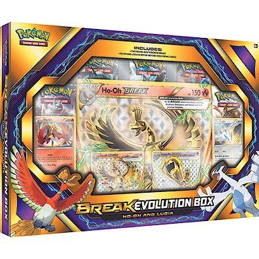 Pokemon Cards Break Evolution Ho Oh Luiga Box