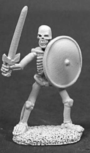 Miniature Skeleton Swordsman