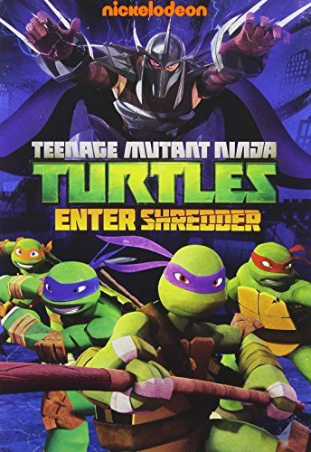 Teenage Mutant Ninja Turtles Enter Shredder DVD